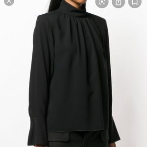 Marc Jacobs standup collar blouse